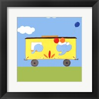 Framed Circus Train III