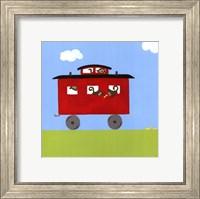 Framed Circus Train IV