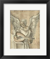 Framed Angel with Lute