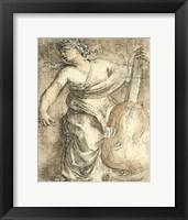Framed Muse Erato