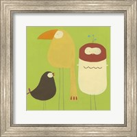 Framed Feathered Friends I