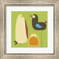 Framed Feathered Friends II