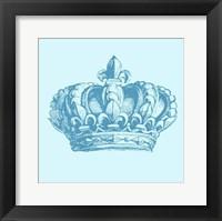 Framed Prince Crown I
