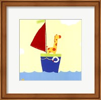 Framed Sailboat Adventure I