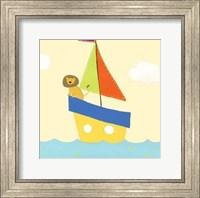 Framed Sailboat Adventure II