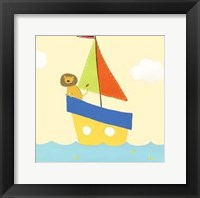 Sailboat Adventure II Framed Print