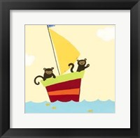 Sailboat Adventure III Framed Print