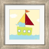 Framed Sailboat Adventure IV