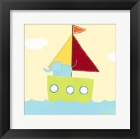 Sailboat Adventure IV Framed Print