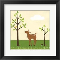 Woodland Friends II Framed Print