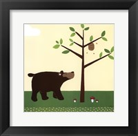 Framed Woodland Friends III