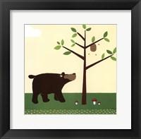Woodland Friends III Framed Print