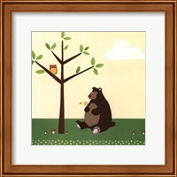 Framed Woodland Friends IV