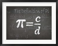 Framed Mathematical Elements I