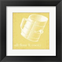 Cottage Kitchen III Framed Print