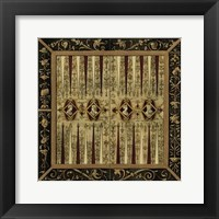 Framed Small Antique Gameboard II (P)