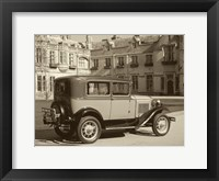 Framed Vintage Cars I
