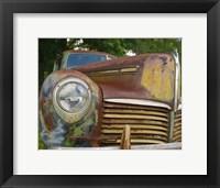 Framed Small Rusty Hudson I