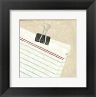 Classic Office VII Framed Print