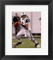 Framed Mark Sanchez 2010 football