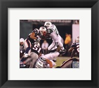 Framed LaDainian Tomlinson 2010 tackle action