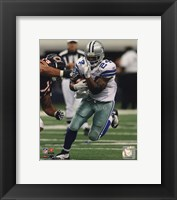 Framed Marion Barber 2010 Action