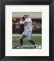 Framed Tony Romo 2010 on the field