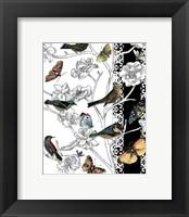 Framed Small Aviary II