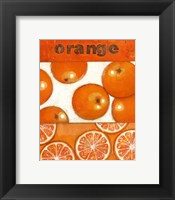 Framed Orange