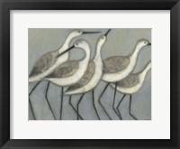 Shore Birds II Framed Print