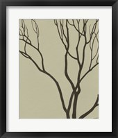 Framed Bare Tree I
