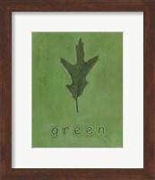 Framed Going Green I