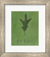 Framed Going Green I