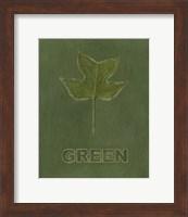 Framed Going Green IV