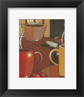 Another Cup IV Framed Print