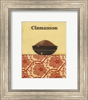 Framed Exotic Spices - Cinnamon