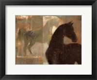 Weathered Equine I Framed Print