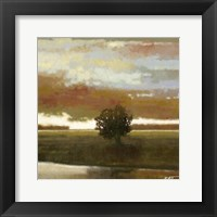 Framed Painted Sky I