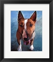 Framed Spike Bull Terrier