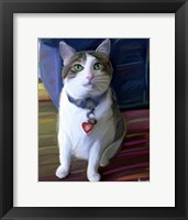 Framed Elvis Cat