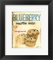 Framed Blueberry Muffin Mix