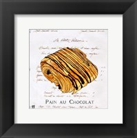Framed Pain au Chocolat