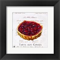 Framed Tarte aux Cerises