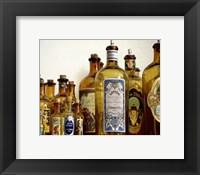 Framed French Perfume Bottles III