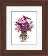 Framed Plum Lilacs