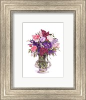 Framed Plum Lilacs