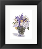 Framed White Ranacule Bouquet