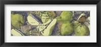 Framed Sparkling Pears I