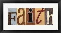 Framed Faith Panel