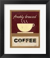 Framed Hot Coffee I